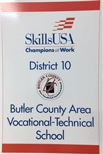 District 10 Sign